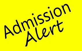Confirm admission 2017 in medical & engineering