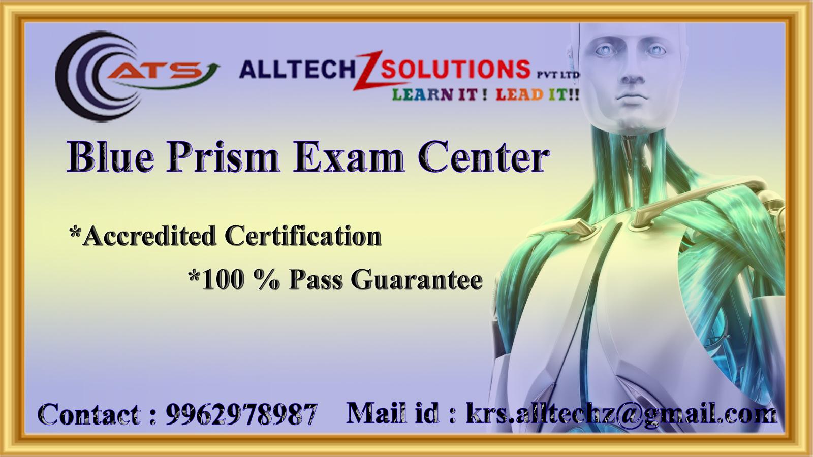 Image for Blueprism Certification Exam Center in Velachery