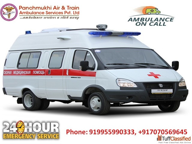 Get Ground Ambulance service in Rohini at an Affordable Cost by Panchm
