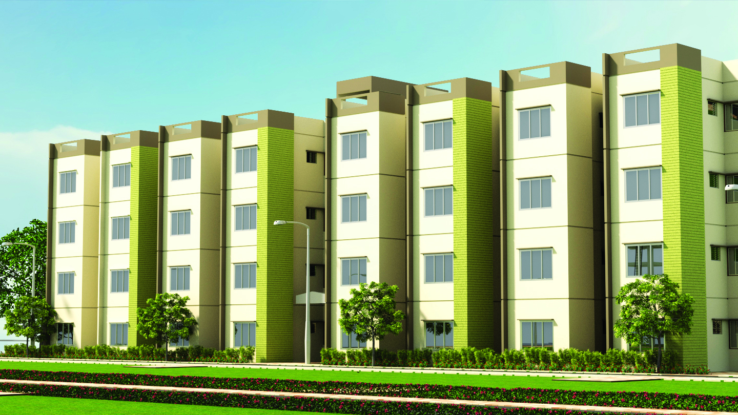 1 BHK APARTMENT | GARDEN CITY