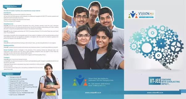 Image for Best IIT coaching in Hyderabad-Vision40