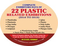 Image for Indiaplast, Iplex, Plexpo India & Cap India Exhibitors Database