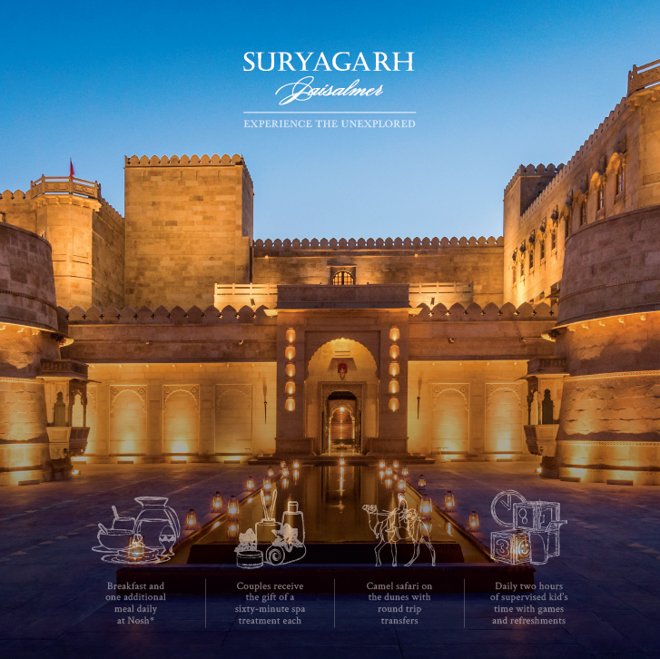 Image for Hotel Suryagarh  Jaisalmer, a Luxury Hotel & Best Wedding Destination
