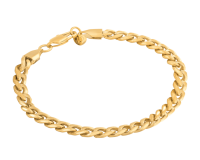 Image for  Buy Gold Plated Cuban Link Bracelet - Marcozo