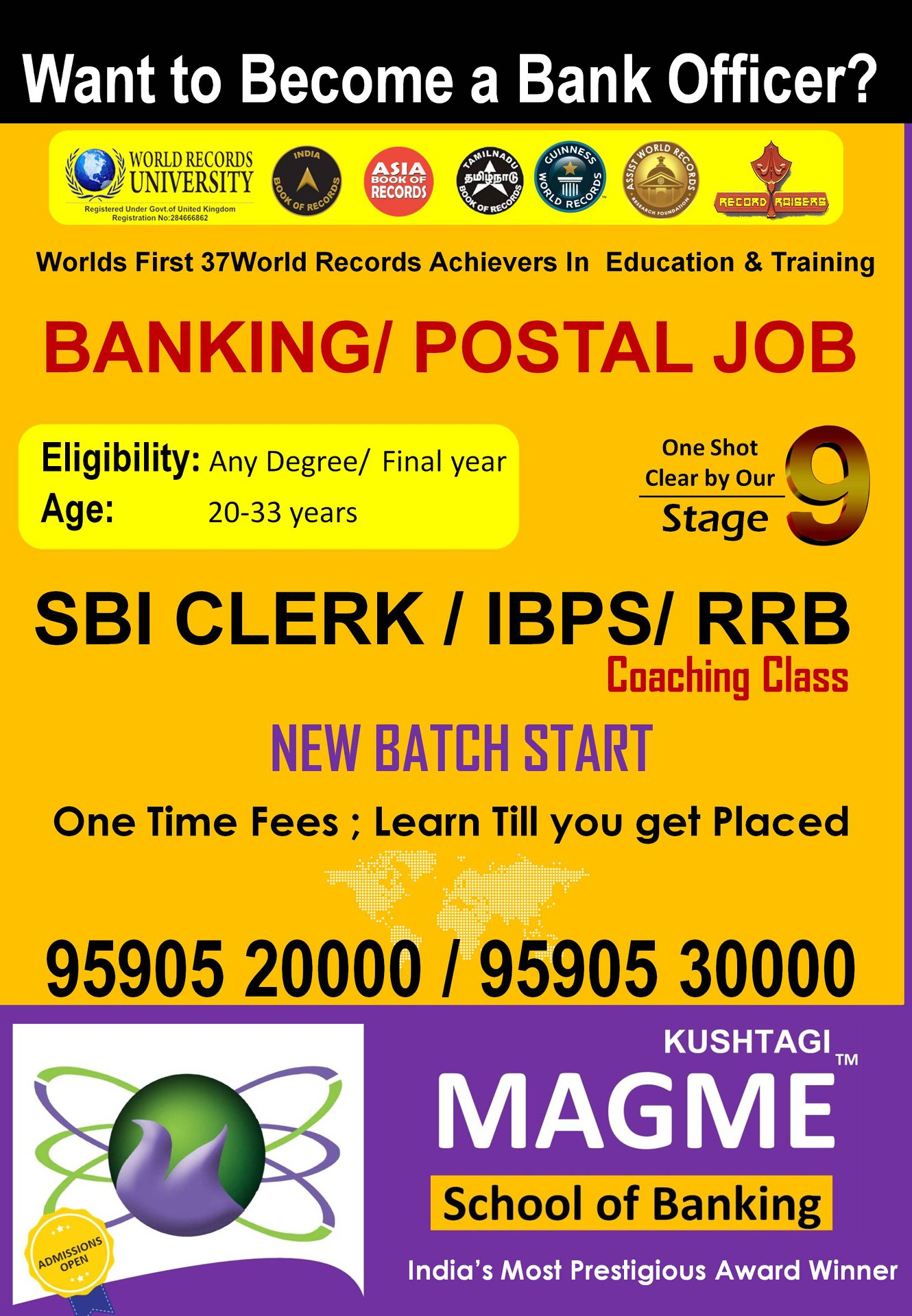 Image for  Best coaching classes for competitive exams - Magme School of Banking