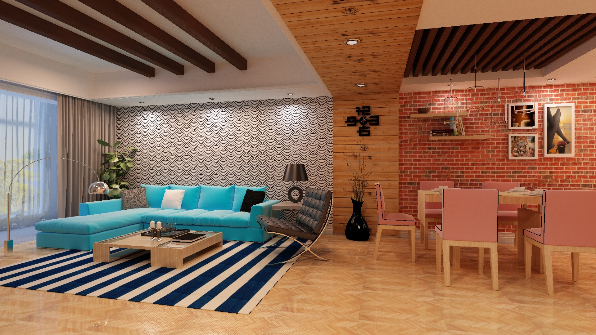 Image for Residential ceiling design Online @ +91-9811327391