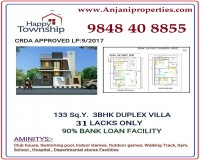 Image for 3BHK Duplex Villa for 31 Lacks only. A Well Gated Community suituated