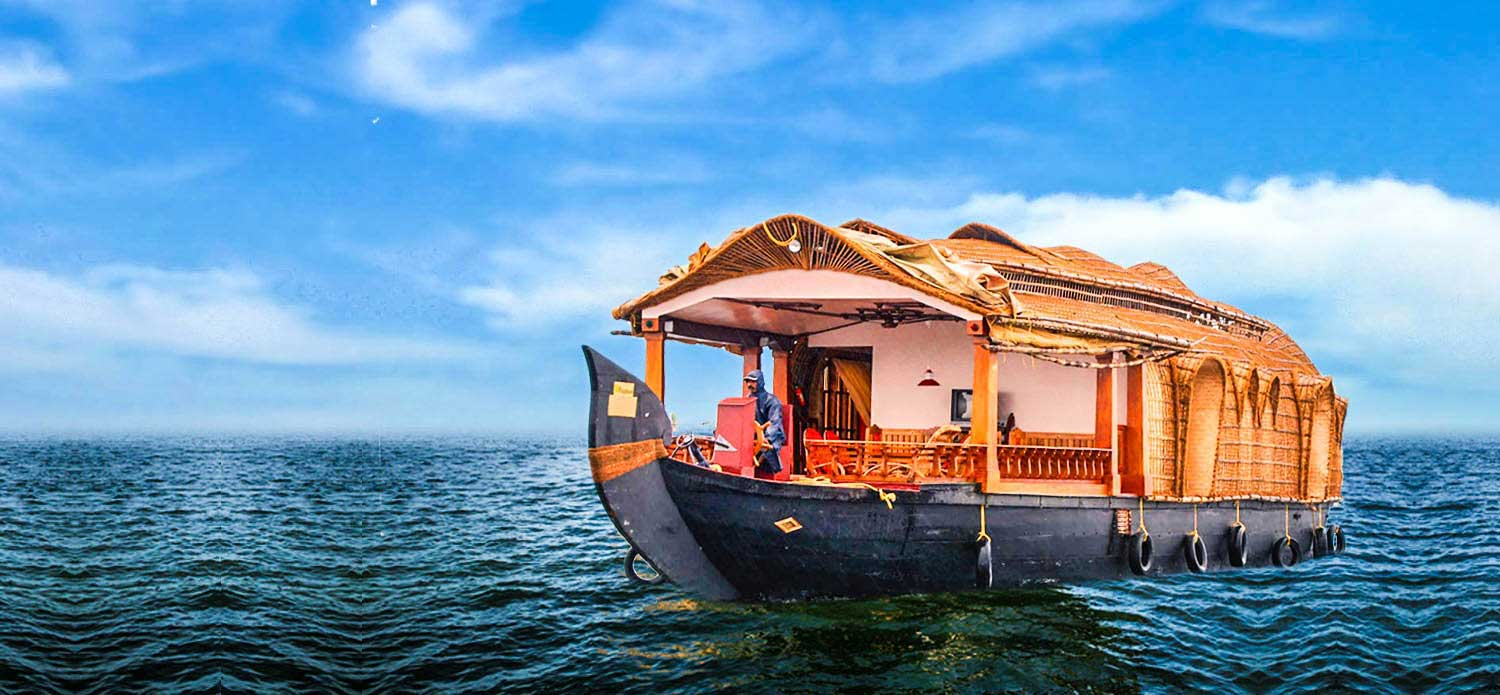 Best Houseboat Travel Packages in Kumarakom | Kumarakom Houseboat Holi