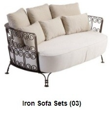 Image for Wrought iron sofa chair Furniture Online Sale