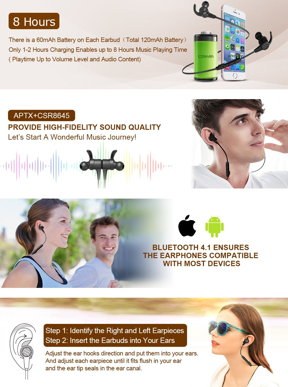 Image for Shop Bass Bluetooth Earphones at Cheap Price