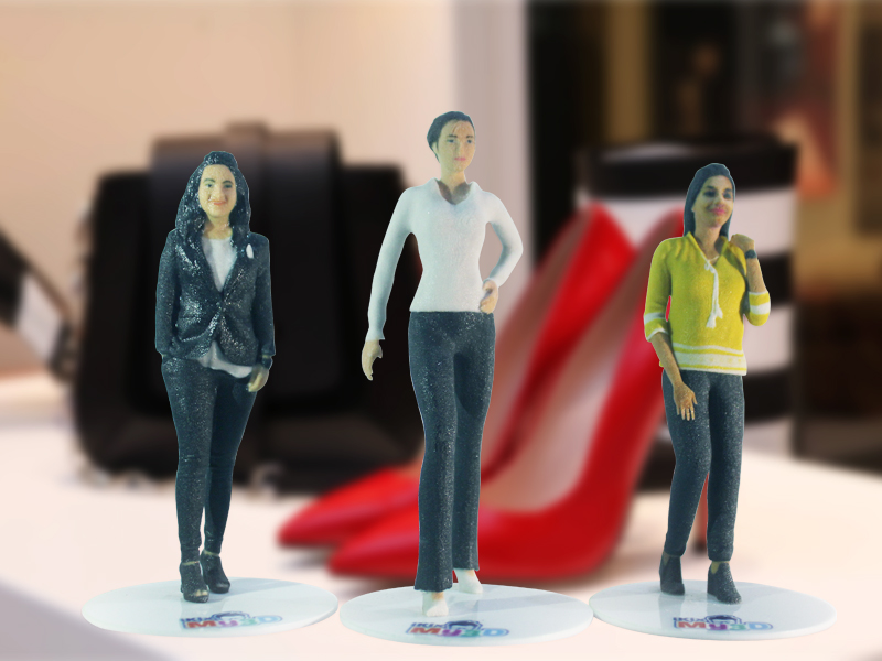 Image for Get 3D printed figure of yourself from iKix My3D