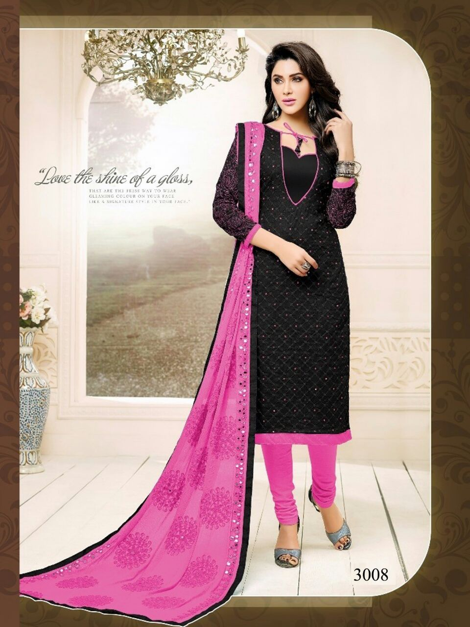 Cotton semi lawn catalog from 4g at wholesale available  moq- full set