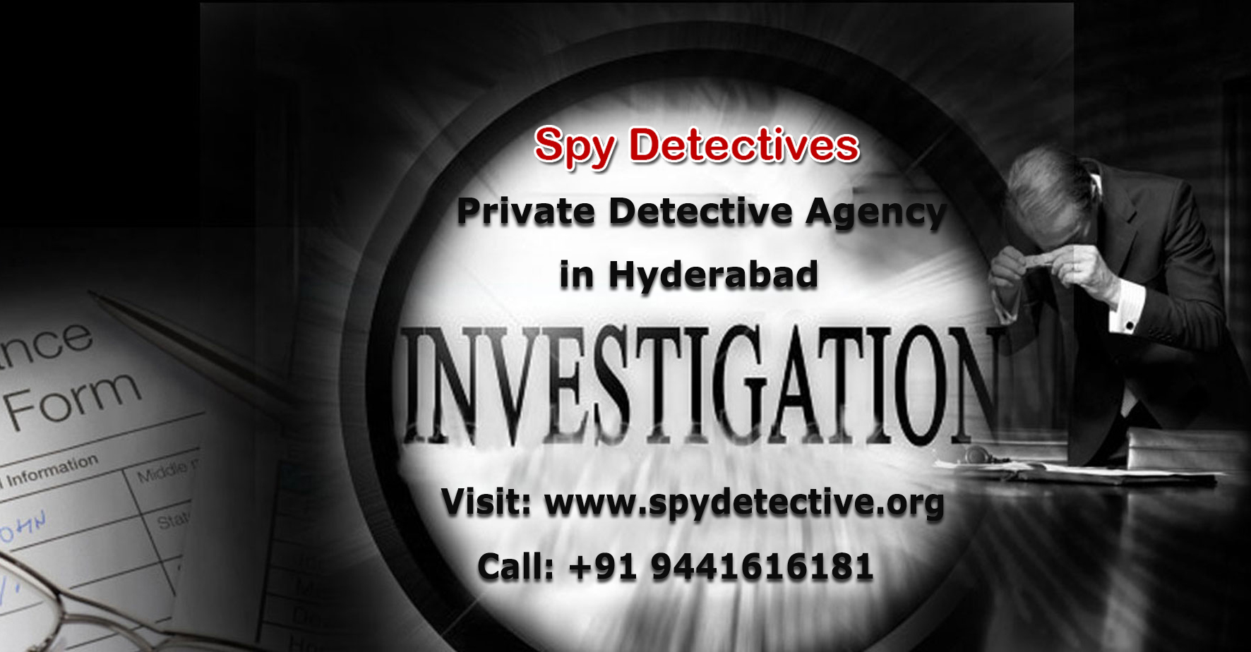 Image for Private Detective Agency in Hyderabad - Spy Detective