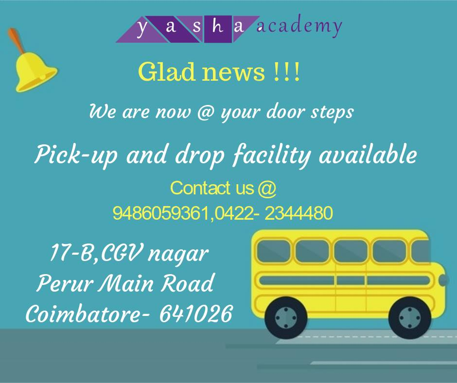 Yasha academy, school for learning disability in Coimbatore, special s