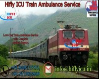 Image for Hire Low-cost Train ambulance in Delhi by Hifly ICU