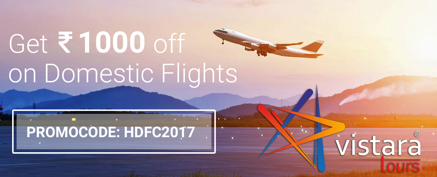 Get Exciting Discount on Domestic Flights