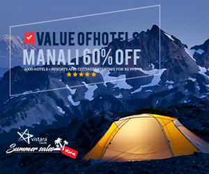 60 % OFF DEALS - HOTEL BOOKING & Holidays packages
