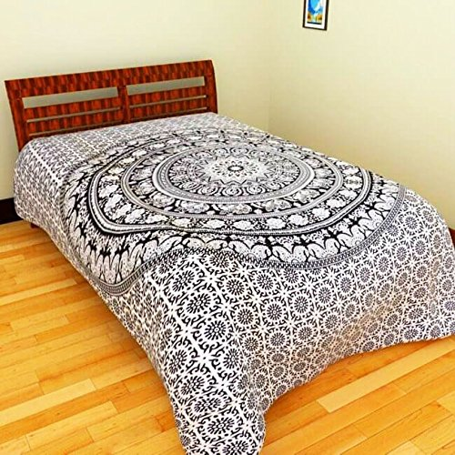Image for 26% Discount on Bedcolors Single Cotton Jaipuri Sanganeri Print Best s