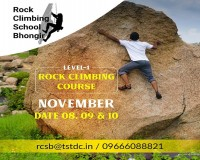 Image for Basic Rock Climbing Course - Rock Climbing School, Bhongir