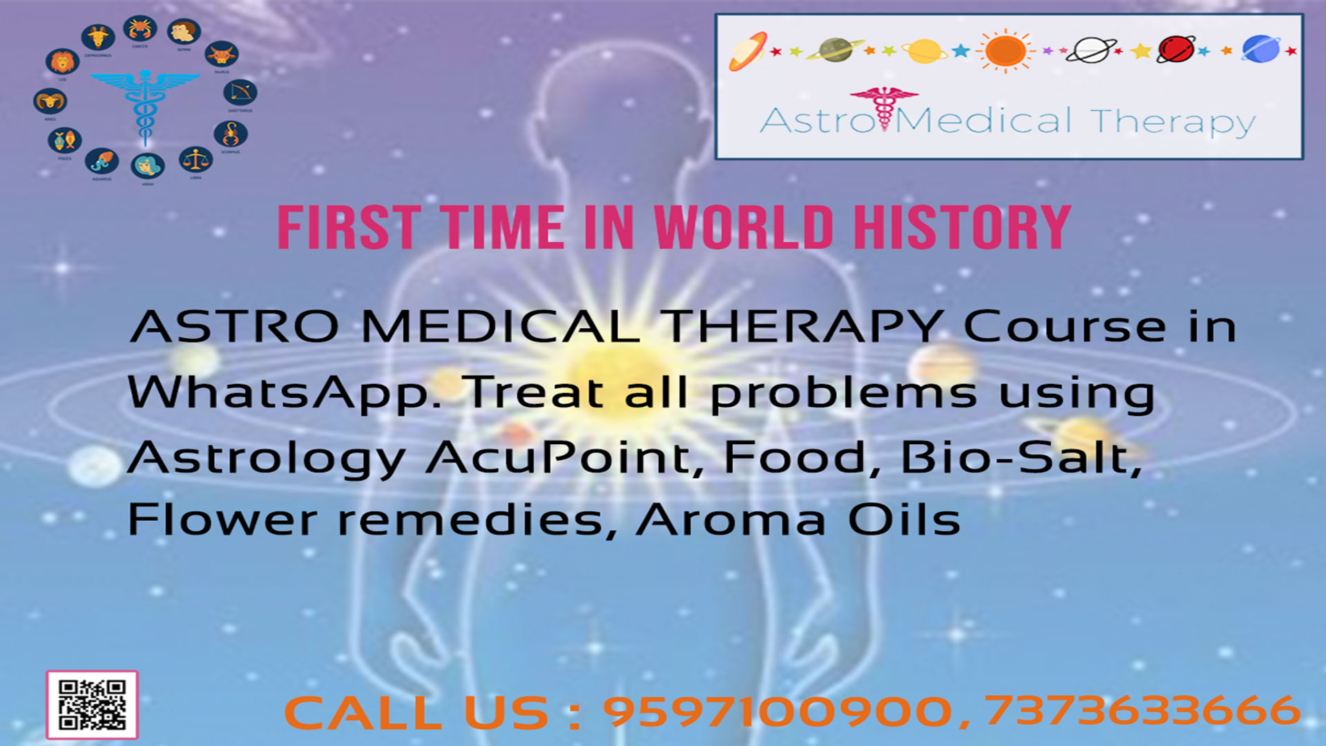 Image for Astro Medical Therapy Course in WhatsApp | Call:9597100900