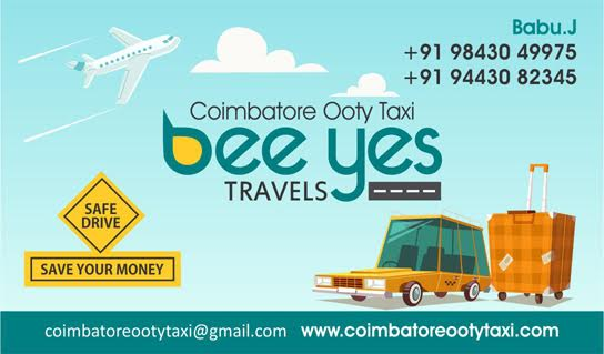 Bee Yes Travels Coimbatore Ooty Taxi Coimbatore Tour Packages Car Rent