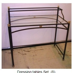 Wrought Iron Dressing Table Set buy at Best Price - Tarun Ind