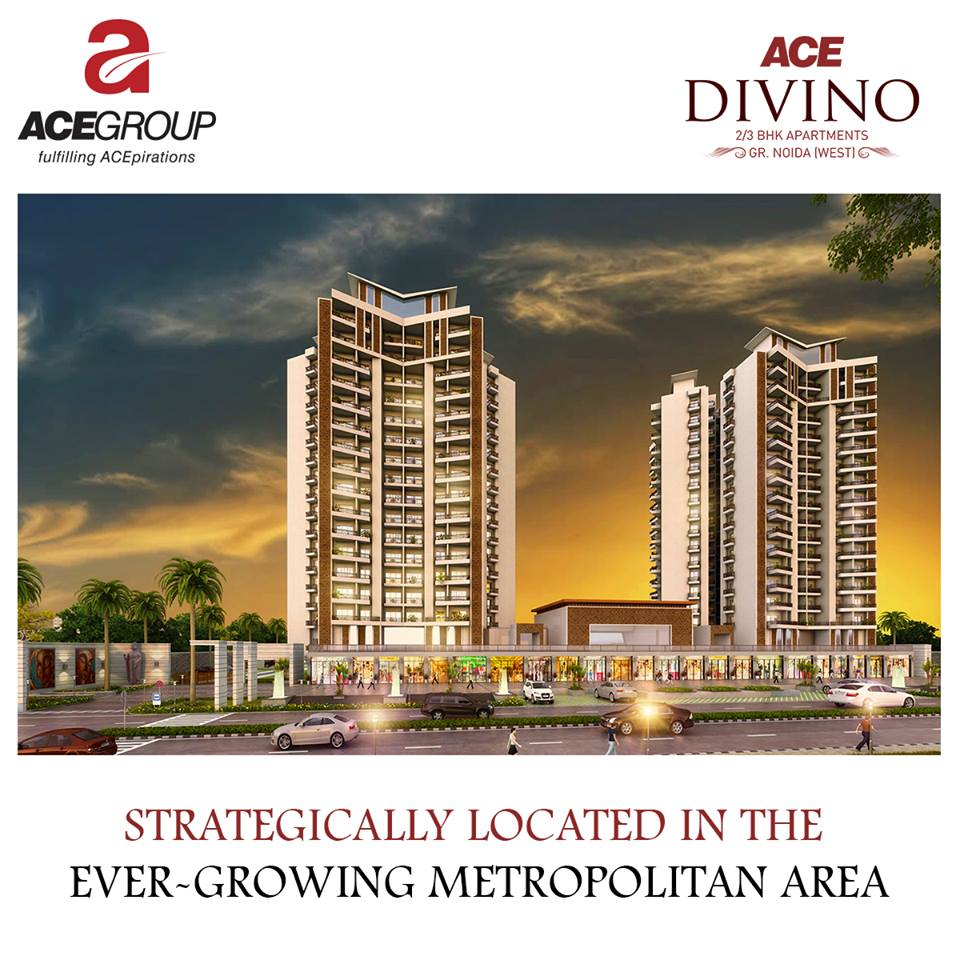 3 BHK Flats in Noida Extension – ACE Divno