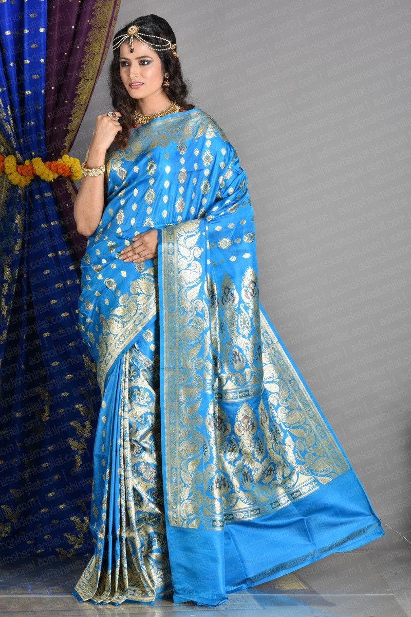 Image for Buy top quality Banarasi Sarees online from Adi Mohini Mohan Kanjilal