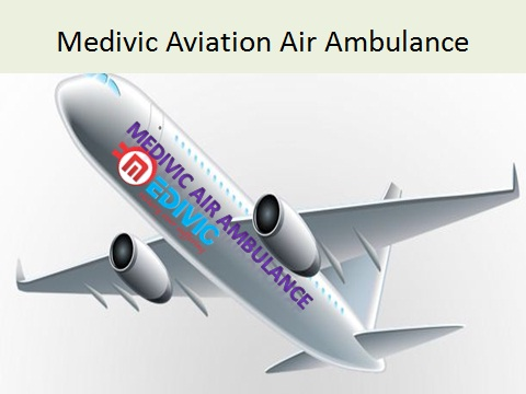 Medivic Aviation Air Ambulance Services in Delhi at Low Price