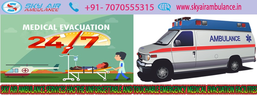 Get Sky Air Ambulance from Mumbai to Delhi with full ICU Setup