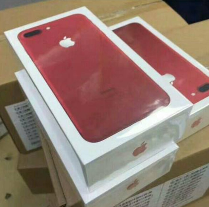 Image for Smartphone iPhone 7 Plus 128GB Product Red