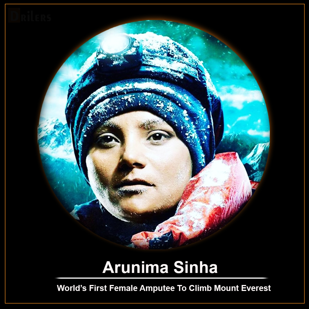 Indian Famous Sports Person Arunima Sinha