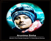 Image for Indian Famous Sports Person Arunima Sinha