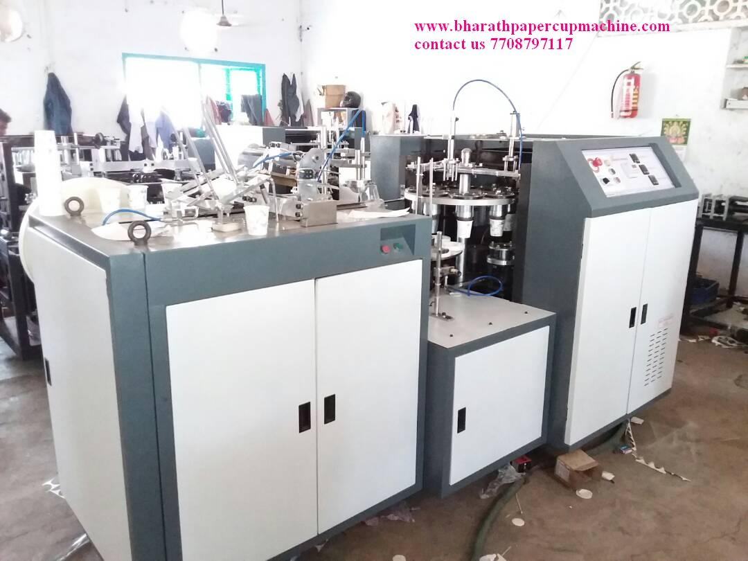 Produce quality paper cups with Bharath Machines