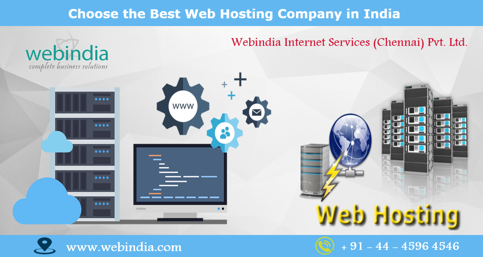 Image for Choose the Best Web Hosting Company in India