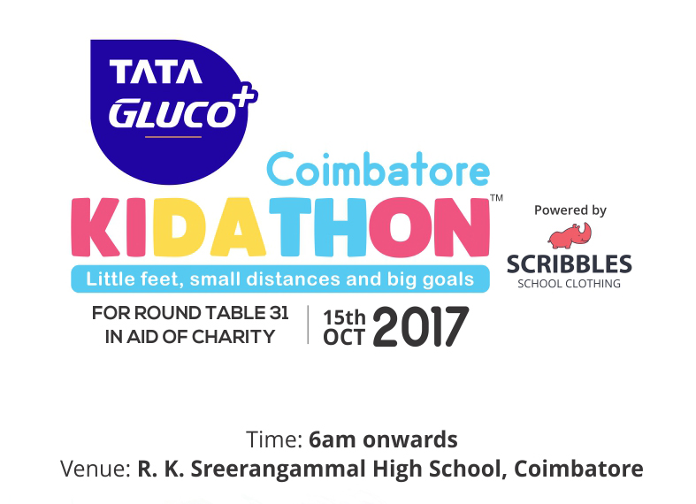 Image for Kids Marathon Coimbatore, Sports Events in Coimbatore