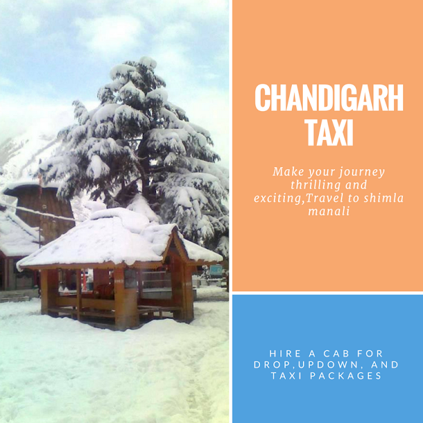 Image for Taxi Service from Chandigarh to Shimla