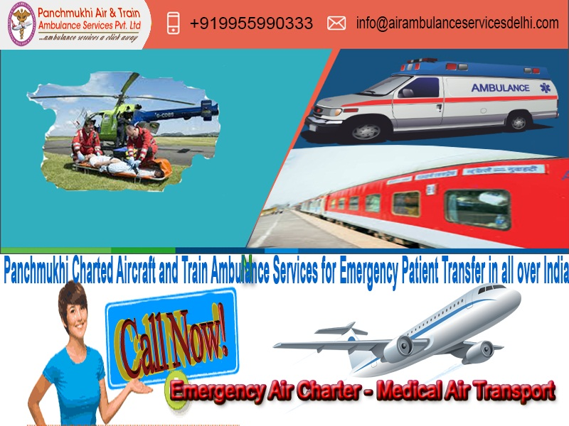 Always Ready To Take Off In an Emergency in Ranchi by Panchmukhi