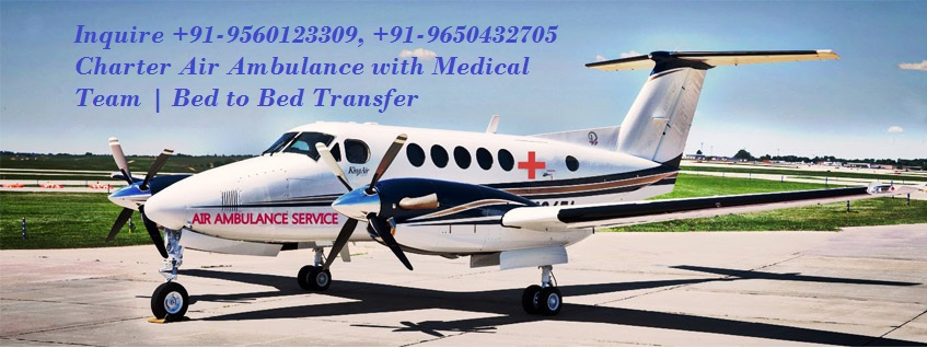 Medical Doctors ICU Air Ambulance in Chennai by Medivic Aviation