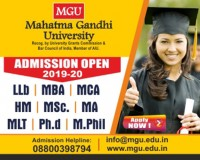 Image for Apply Now For 2019 Admission In MGU University