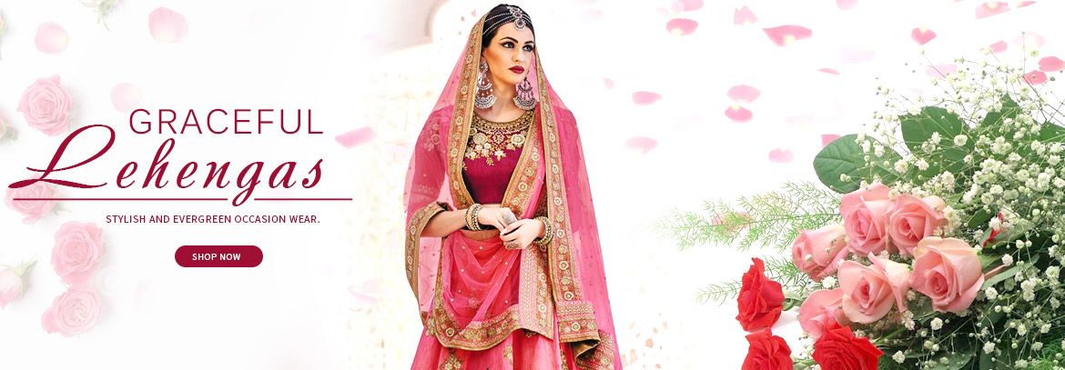 Image for Exclusive Dhamaka Offers On Lehengas Visit Mirraw