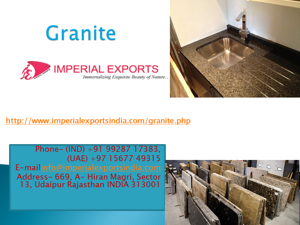 Image for Granite supplier to UK, US and Russia