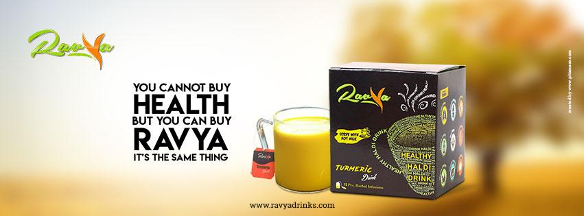 Image for  Haldi Milk/Haldi Doodh Recipe - Ravya Drinks