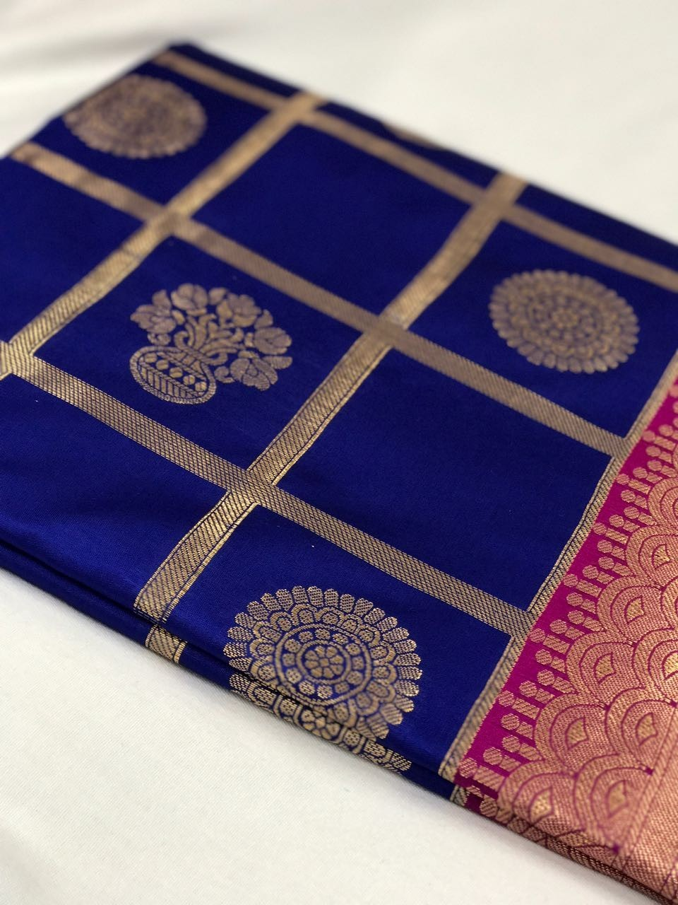Image for Beautiful traditional saree with fancy touch