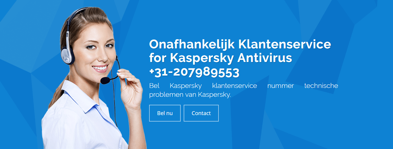Image for Contact +31-20-7989553 For Kaspersky Antivirus Ondersteuning