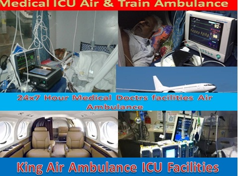 King Air Ambulance Services in Delhi at Low Cost