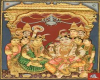 Image for Thanjavur Paintings |  Tanjore Paintings in Chennai - Ethnic Tanjore