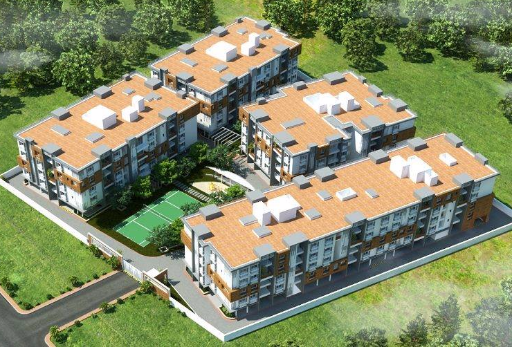 Residential and Commercial Flats in Coimbatore, 1BHK, 2BHK, 3BHK Flats