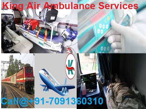Air Ambulance Services in Delhi-King Air Ambulance