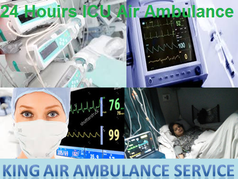 Very Low Cost Air Ambulance Services in Bangalore by King Ambulance